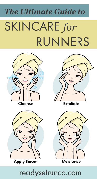 The Ultimate Guide to Skincare for Runners: AM Routine | Ready Set Run Co