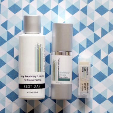 Winter Skincare Kit from Ready Set Run Co
